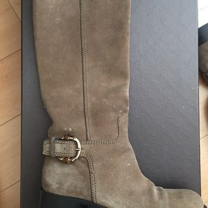 Gucci suede boots size 8.5